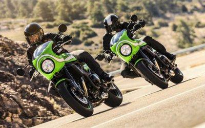 Kawasaki e i nuovi colori della ...