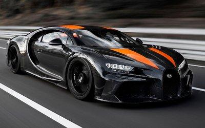 Bugatti Chiron, toccati i 490 km ...
