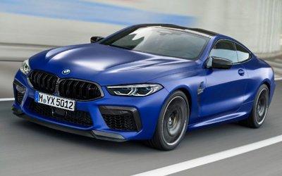 BMW M8 Coupé, 625cv di lusso ...