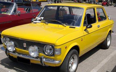 Fiat 128, una vettura normale ma ...