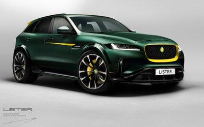 Jaguar F-Pace Lister Stealth, il Suv ...
