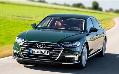 Audi A8 hybrid scatta in 4 ...