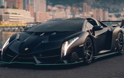 Lamborghini Veneno Roadster all'asta per ...