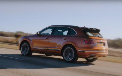 Bentley Bentayga Speed più veloce di ...