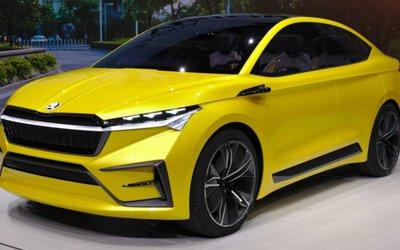 Skoda Vision iV, la coupé elettrica ...