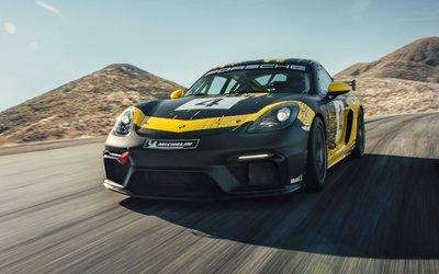 Porsche 718 Cayman GT4 Clubsport, realizzata ...