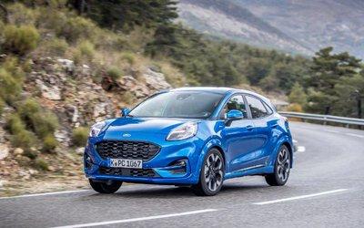 Ford puma, il nuovo crossover ibrido