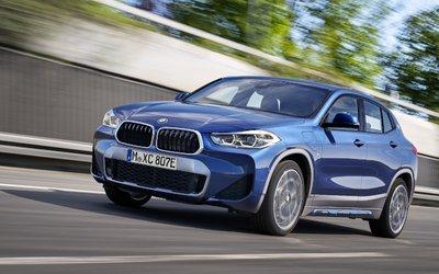 BMW X2 ibrida, consegne da luglio ...