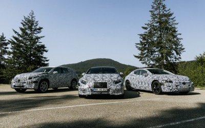 Mercedes presenta sei nuovi modelli EQ