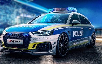 Audi RS4-R della polizia tedesca, 530 ...