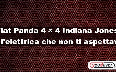 Fiat Panda 4 × 4 Indiana Jones ...