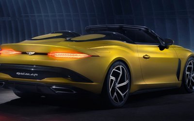 Bentley Bacalar, 12 esemplari costruiti a ...