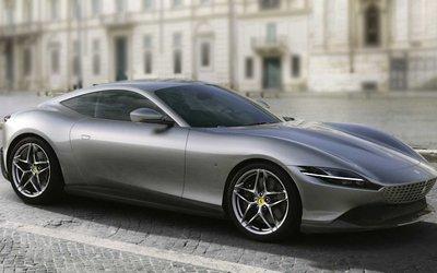 Ferrari Roma, ecco la nuova V8 ...