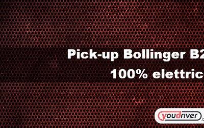 Pick-up Bollinger B2, 100% elettrico