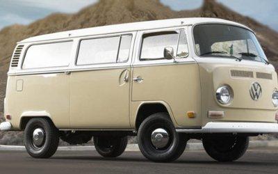 VW Type 2 convertito in elettrico