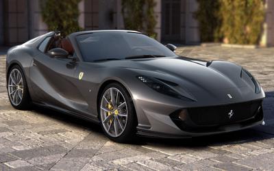 Ferrari 812 GTS, una V12 scoperta