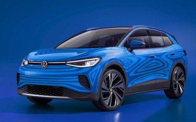 Volkswagen ID4, il suv elettrico pronto ...