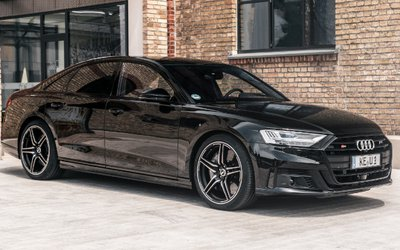 Audi S8 ABT, 0-100 km/h ...
