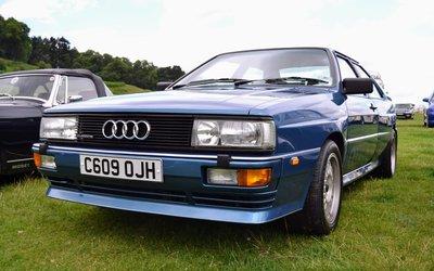 Audi quattro, la prima Coupé di ...