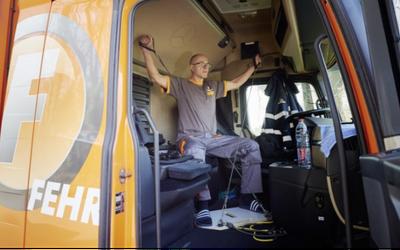 Set TopFit, fare ginnastica sul camion
