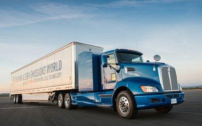 Un camion Toyota a idrogeno