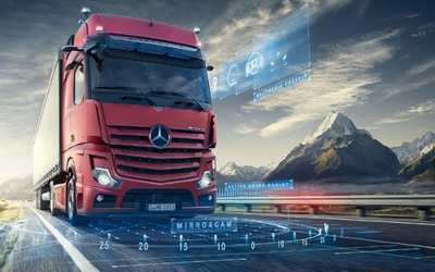 Mercedes Actros premiato Sustainable Truck of ...