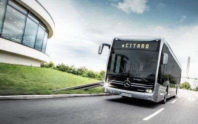 eCitaro, l'autobus elettrico Mercedes è ...