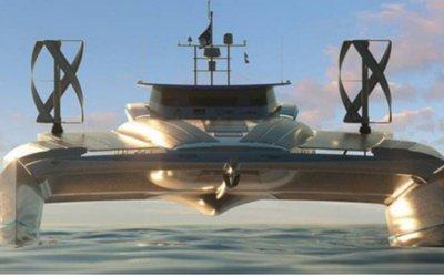 Il catamarano va a idrogeno, ma ...