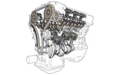 Un motore che si divide o ...