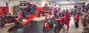 EPM Motorrad Werkstatt